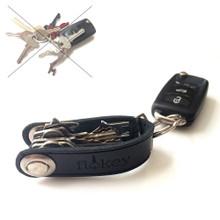 Flokey Premium Leather Smart Key Organiser Compact Pocket Holder Bottle Opener