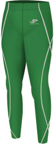 Copy of Kids Compression Pants Base Layer Tights Green Take 5