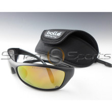 Bolle Spider Flash Yellow Lens Safety Glasses Sunglasses with Free Case