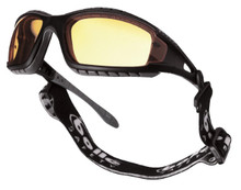 Bolle Tracker II Safety PPE Sunglasses Goggles Yellow | Free Bag