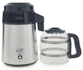 UK 240 Volt Stainless Steel Water Distiller with Glass Carafe (*Not to use in North America)