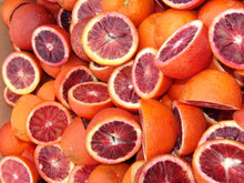 Blood Oranges, Organic, 18 Lb. Box