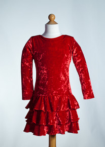 Red Tier Dress              Matching Doll Dress available