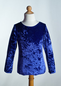 Royal Crew Neck Top Long Sleeve