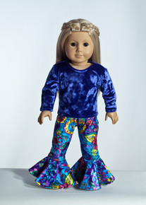Purple Gardi Doll Outfit     Matching Girl Outfit available