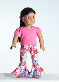 Pink Talk  Doll Outfit     Matching Girl Outfit available