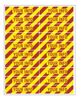 "Inventory Decals 1""x4"" (large)"