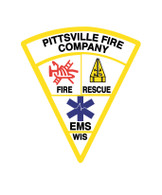 Pittsville Vehicle Badge