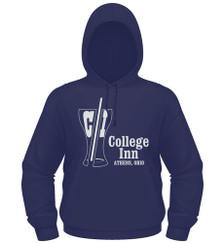College Inn Hooded Sweatshirt in navy