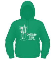 College Inn Hoodie in kelly green