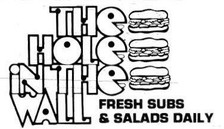 The Hole In The Wall Sub Shop - Athens, Ohio 1970s