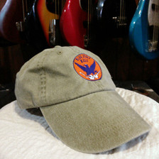 Faded Khaki Blue Eagle Music Hat