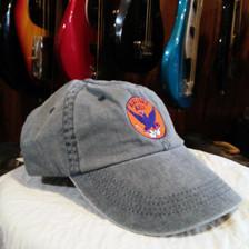 Faded Navy Adjustable Blue Eagle Music Hat
