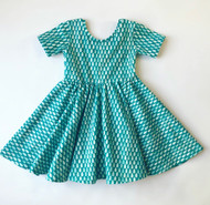 Raindrop Twirl Dress