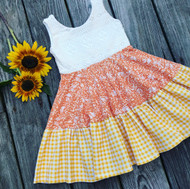 Candy Corn Dress SOLD OUT