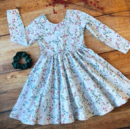 Winter Berries Twirl Dress SOLD OUT