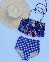Palm Leaves Swimsuit