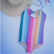 Rainbow Stripe Swimsuit SOLD OUT