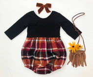 Knit Harlow- Bubble OR Dress- Autumn Harvest