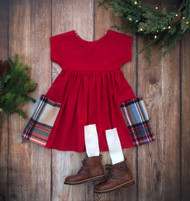 Everly Dress - Red