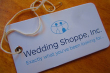 Heavyweight cardstock hangtag with cotton string