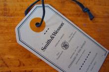 High quality printed cardstock hangtag