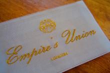 1920 vintage label
