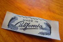 Vintage clothing label