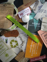 Eco-friendly sample kit of labels
