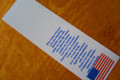 Printed nylon extra long care & content label. Made in USA. Ships in 24 hours completely personalized.