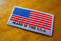 Made in USA Damask Iron on Clothing Label - 1000pcs.