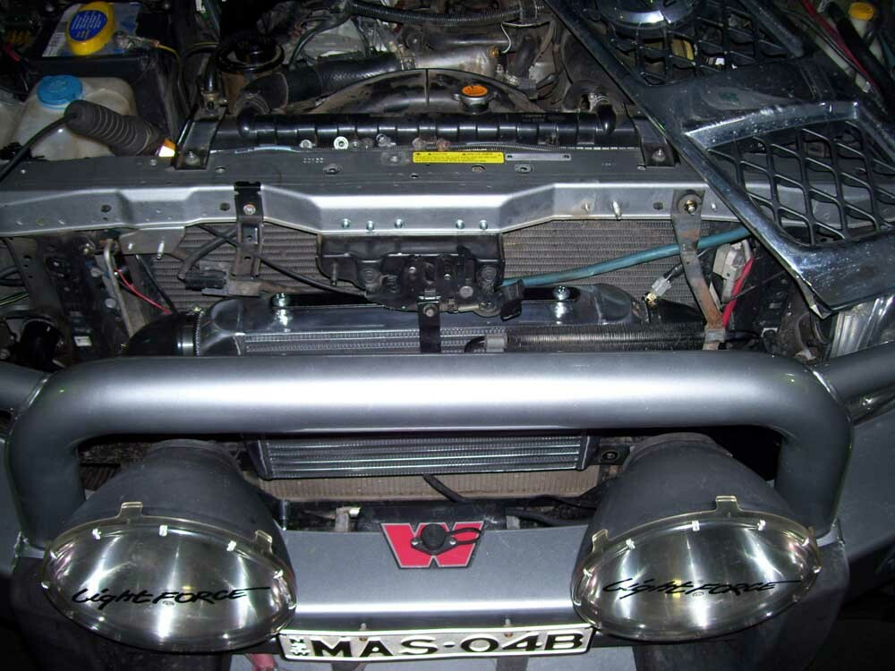 GU Front Mount in Grill Intercooler
