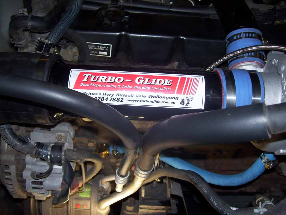 Nissan TD42 High Mount Turbo Kit