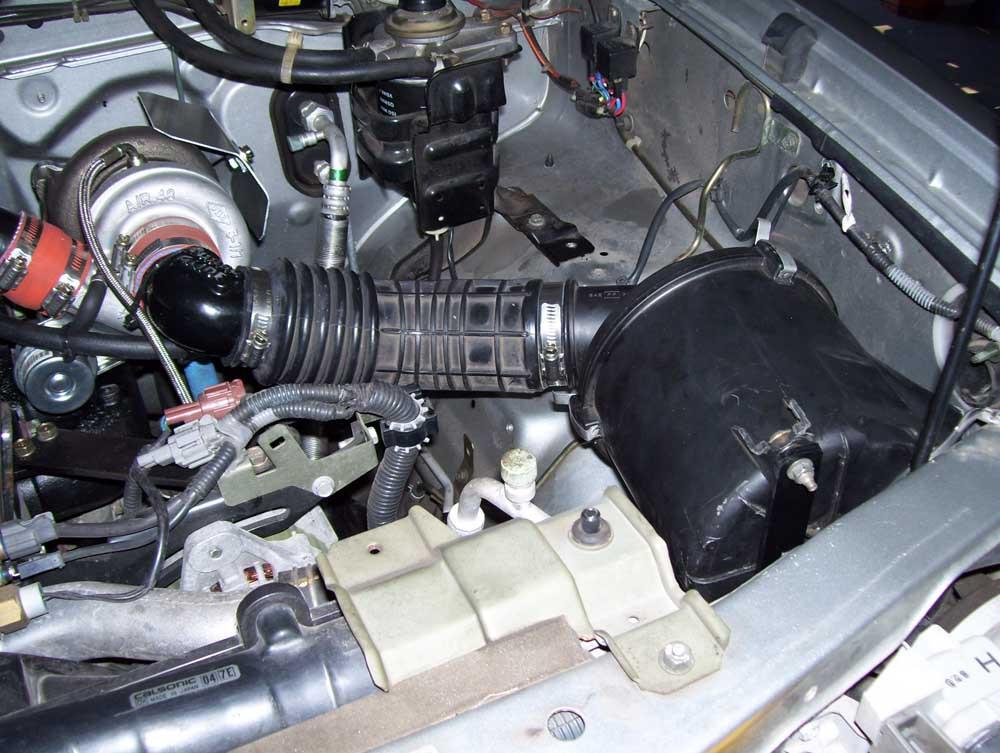 Nissan Navara QD32 Turbo Kit Fitted