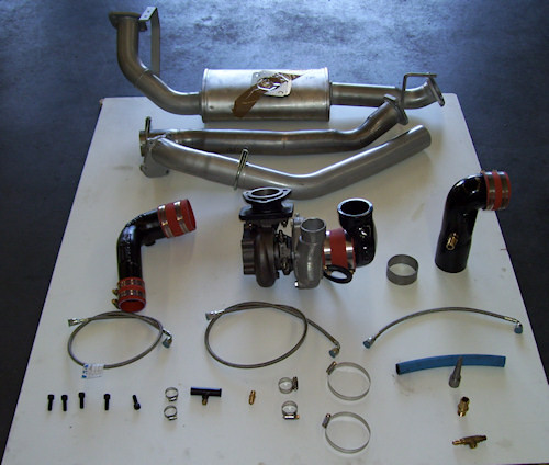 Toyota 80 and 100 series ball bearing turbocharger kit