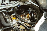 Hiace 2.8 Litre Toyota Turbo Kit Fitted