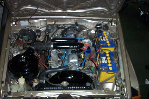 Toyota Landcruiser 2H HJ75 Turbo Kit Fitted
