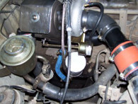 Toyota Landcruiser 3B BJ70 Turbo Kit Fitted
