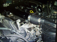 5LE Toyota Hilux - Turbo system installed