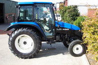 Newholland TL70 Tractor turbo installation in house