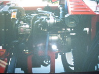 Moffitt Brick Loader Turbo kit fitted