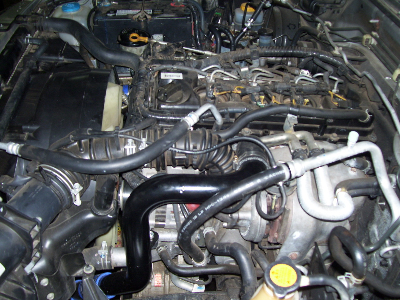 Nissan Patrol - 3 L Common Rail - Intercooler conversion