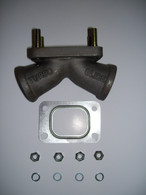 Cast Stainless Steel Turbo Charger Mount - Turbo Glide