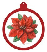 Poinsettia Ornament - Retiring