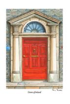 PP Doors of Ireland - Red 47
