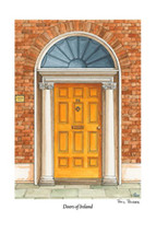 Doors of Ireland - Yellow 26