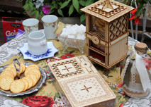 Tea Box & Cookie Jar