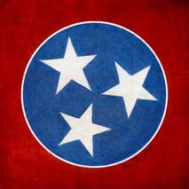 Wood Tennessee Tri-Stars Large