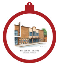 Belcourt Theatre Ornament