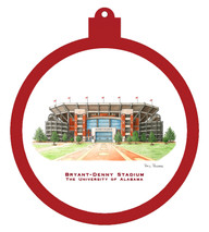 Bryant-Denny Stadium - University of Alabama Ornament